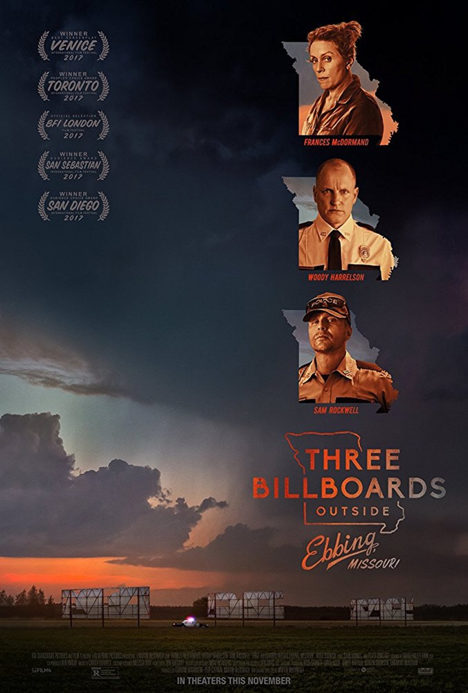 oscar nominee best picture Three Billboards Outside Ebbing, Missouri