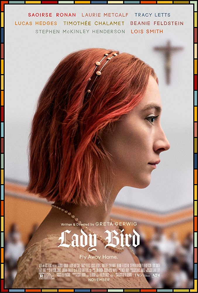 oscar nominee best picture lady bird