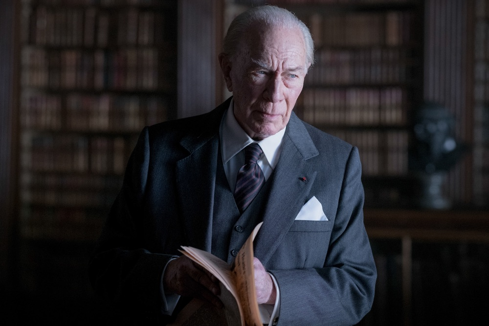 Christopher Plummer is J. Paul Getty in TriStar Pictures' ALL THE MONEY IN THE WORLD.