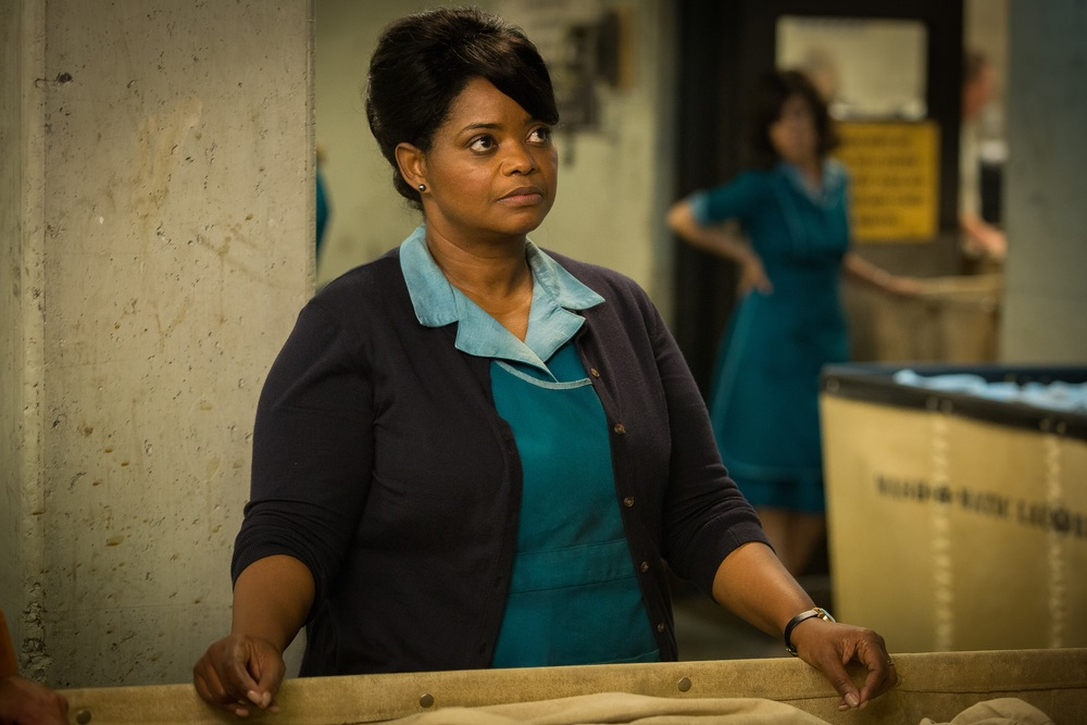 Octavia Spencer in the film THE SHAPE OF WATER. Photo Credit: Kerry Hayes; © 2017 Twentieth Century Fox Film Corporation