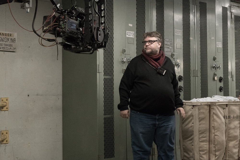 Director/Writer/Producer Guillermo del Toro on the set of THE SHAPE OF WATER. Photo by Sophie Giraud. © 2017 Twentieth Century Fox Film Corporation
