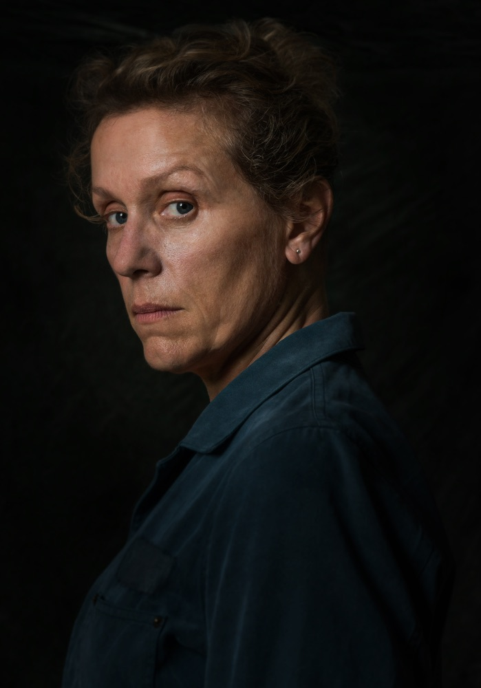 Frances McDormand in the film THREE BILLBOARDS OUTSIDE EBBING, MISSOURI