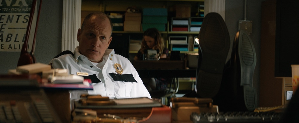 Woody Harrelson in the film THREE BILLBOARDS OUTSIDE EBBING, MISSOURI. Photo courtesy of Fox Searchlight Pictures. © 2017 Twentieth Century Fox Film Corporation