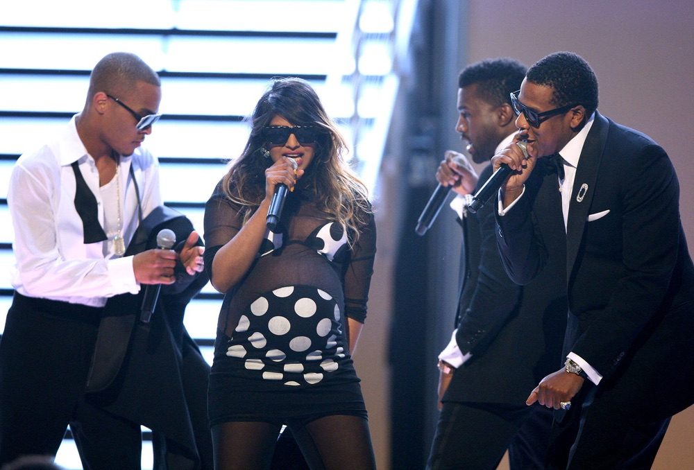 M.I.A., T-Pain, Jay-Z, Kanye West, Grammy Awards