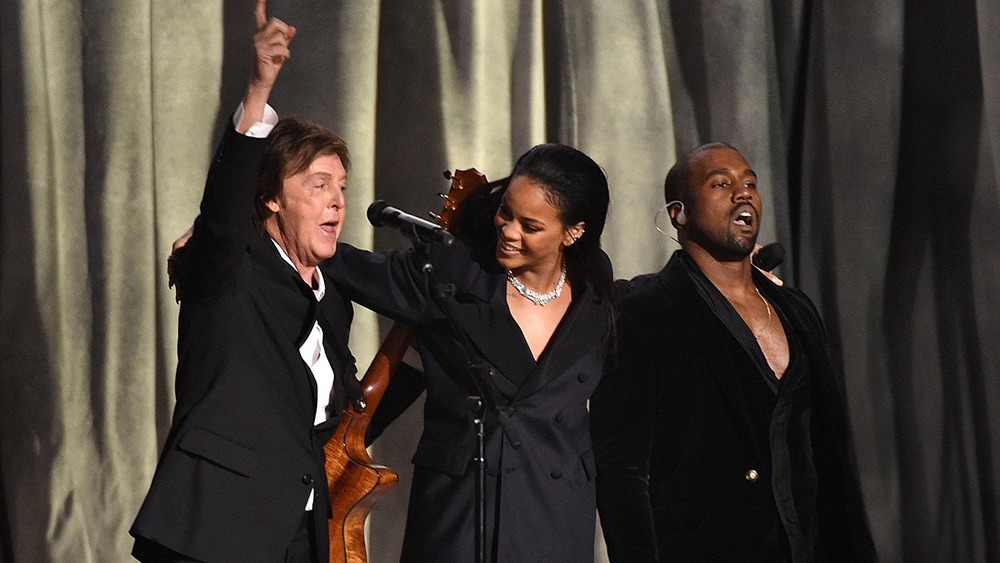 Paul McCartney, Rihanna, Kanye West, Grammy Awards