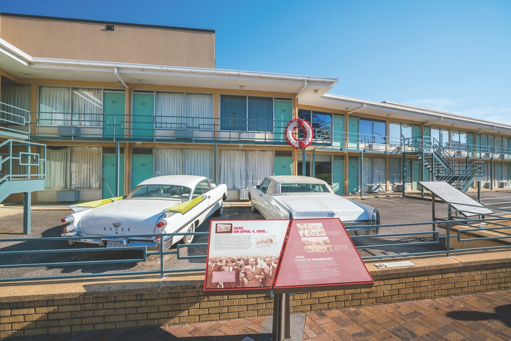 Visit the National Civil Rights Museum. VIE Magazine, March 2018