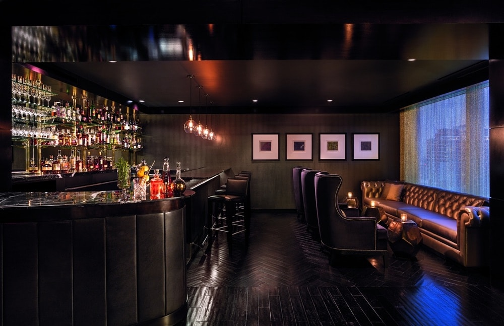 The Punch Room bar at the Ritz Carlton in Charlotte, North Carolina