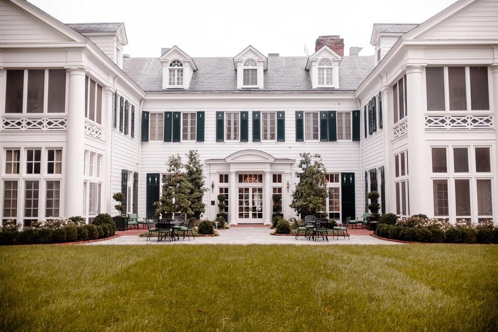 Duke Mansion in Myers Park in Charlotte, North Carolina