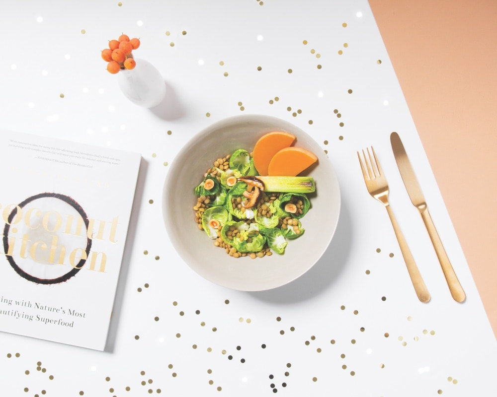 Meal subscriptions from Daily Harvest can include a variety of smoothies, power bowls, soups, lattes, and more. The brand's founder, Rachel Drori (top left), has made it her mission to help Americans eat better at home and on the go.