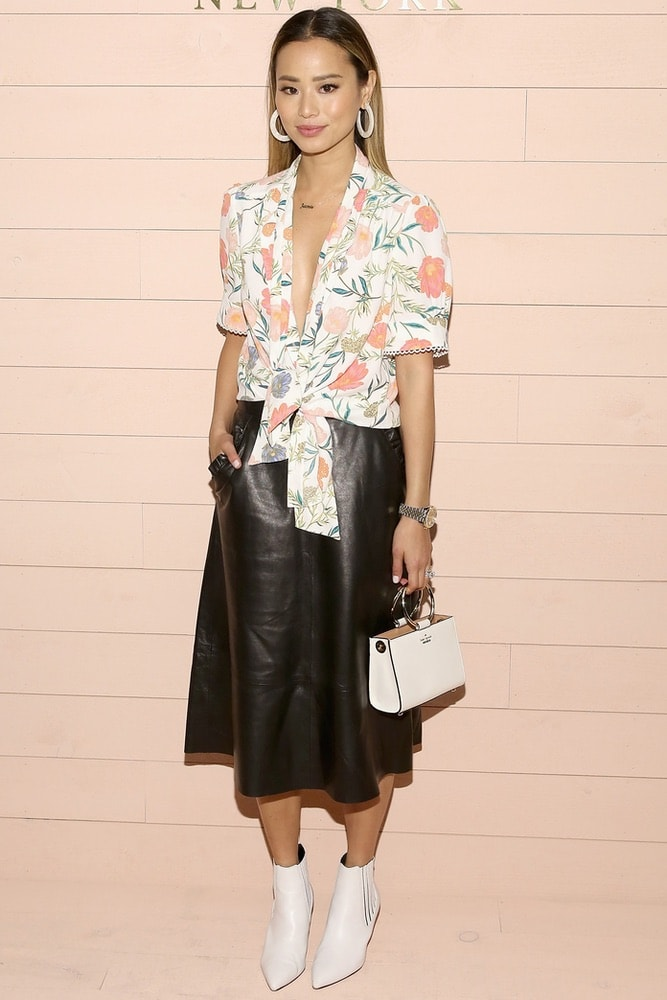 Jamie Chung at Kate Spade's NYFW F/W 2018 presentation