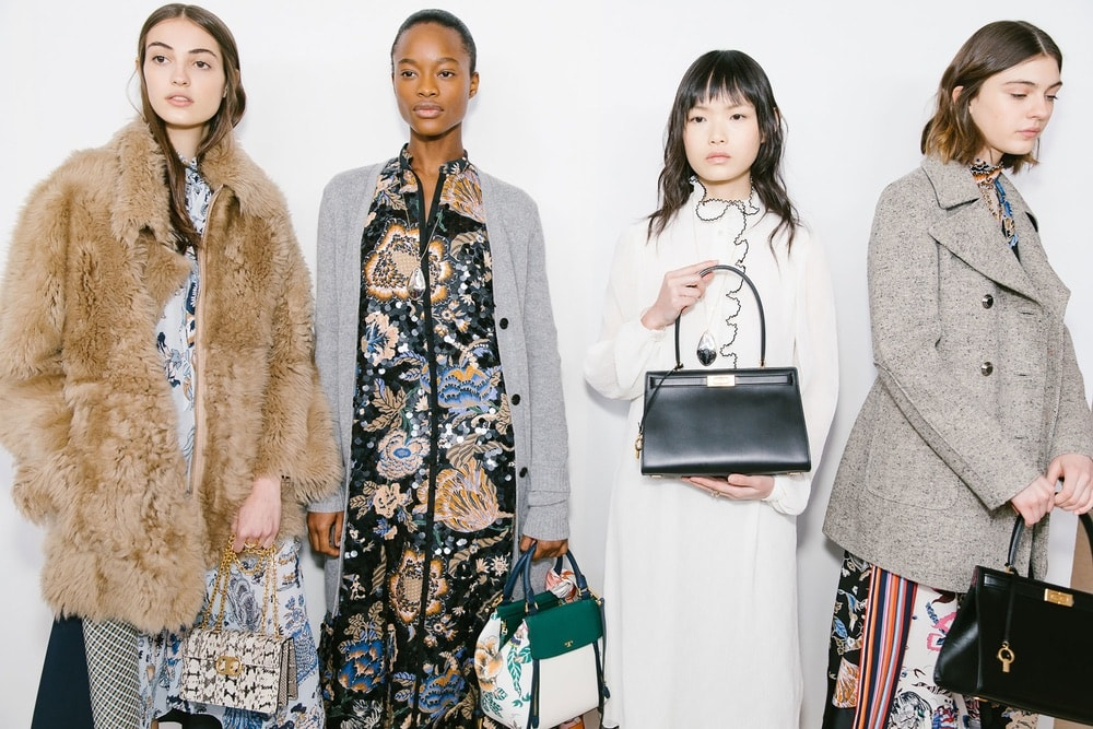 Backstage at Tory Burch during NYFW F/W 2018