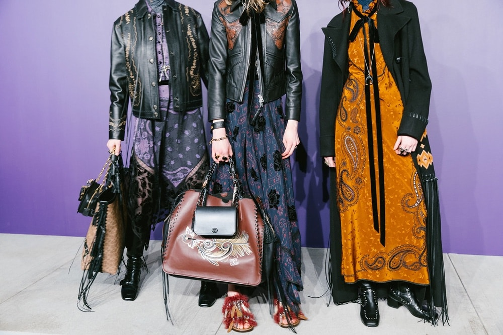 Backstage at COACH 1941 during NYFW F/W 2018