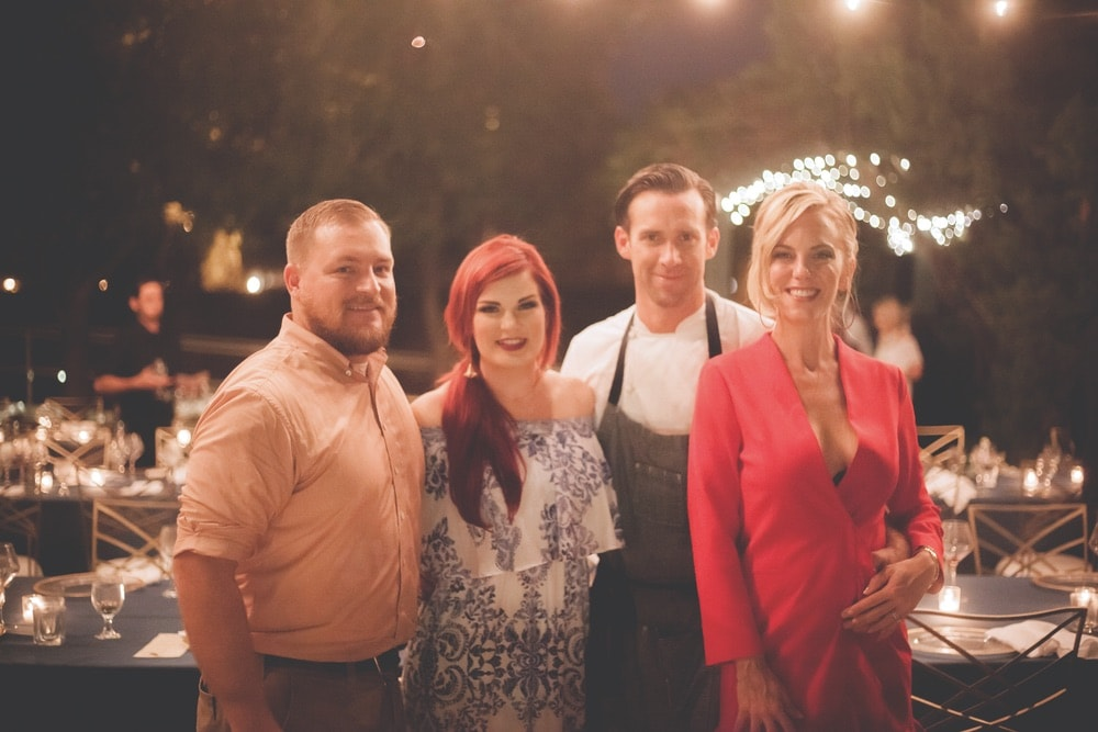 Tony and Katie Garrett of Old Hickory Whiskey Bar with James Briscione and Brooke Parkhurst