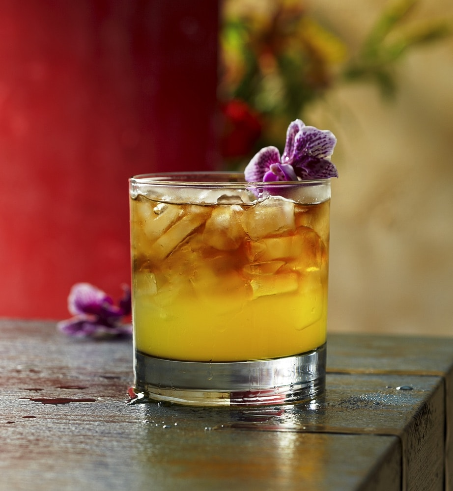 A drink from Tommy Bahama.