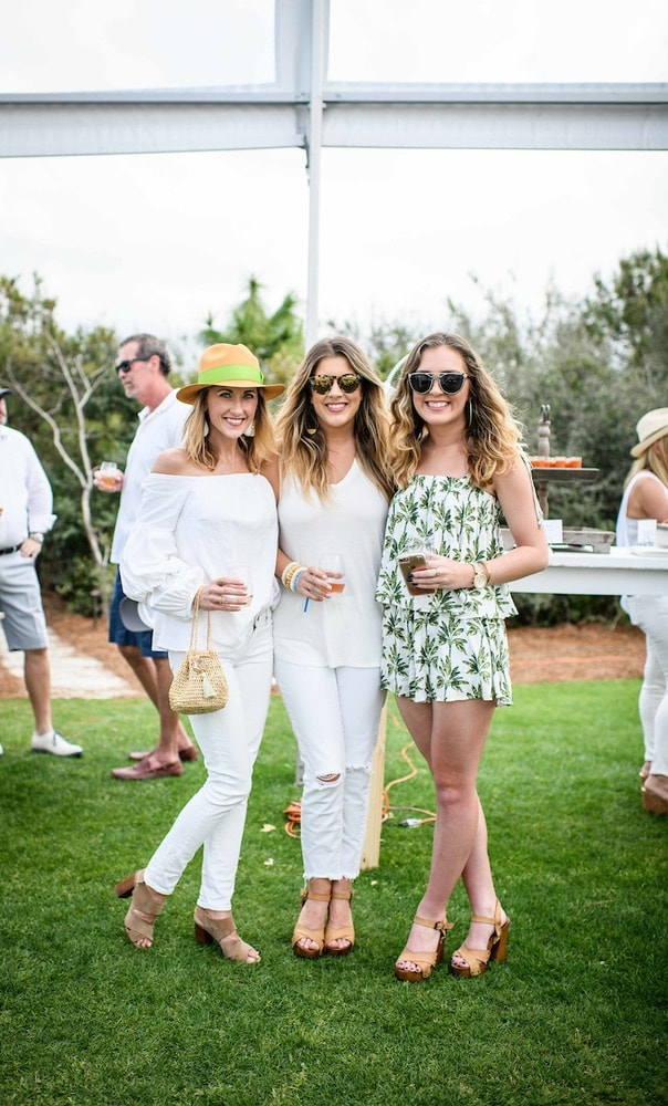 Rosé & Croquet's Sixth Annual Croquet Tournament on the Kelly Green during 30A Wine Festival in Alys Beach
