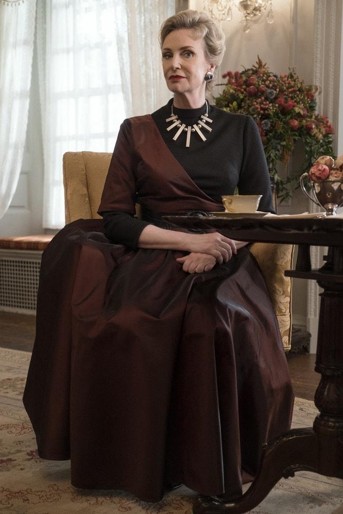 Jane Lynch in Season 1 of The Marvelous Mrs. Maisel