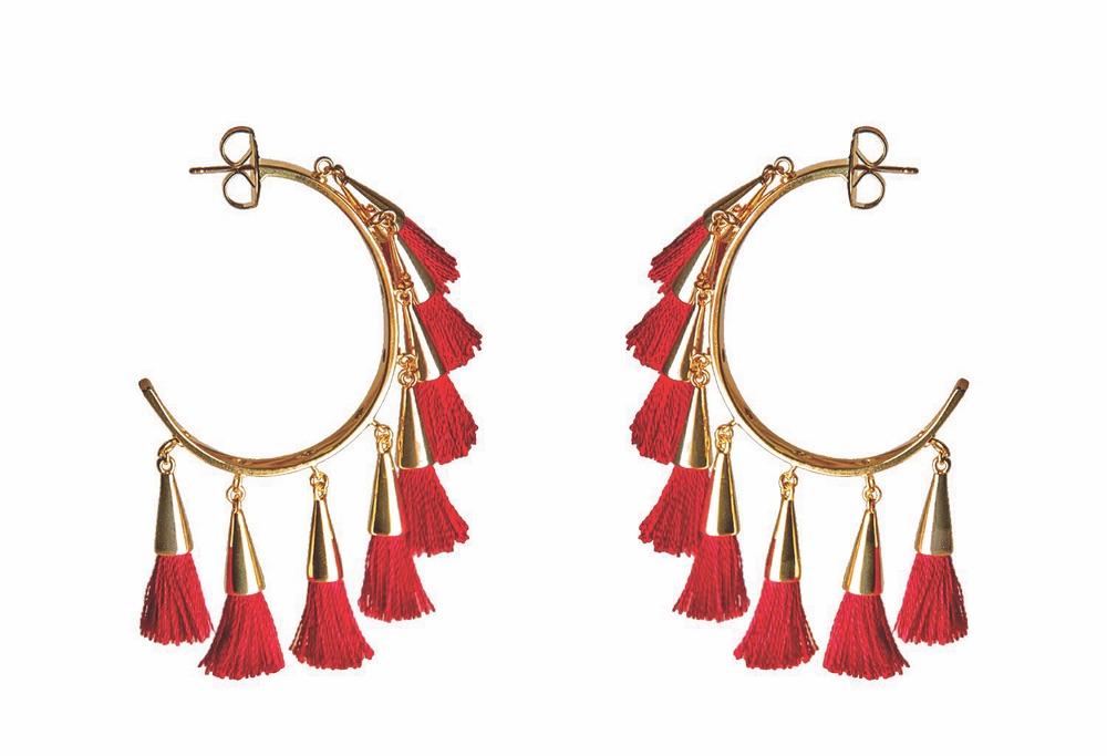 Mignonne Gavigan Paloma Tassel Earrings