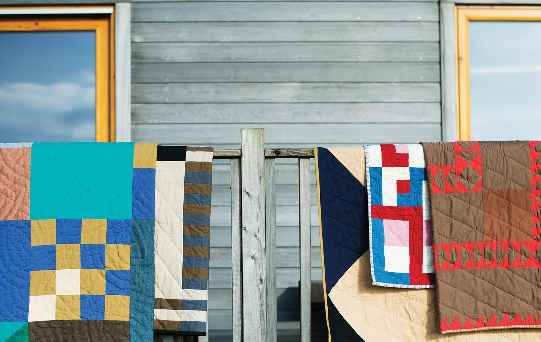 Jessica Ogden's quilts