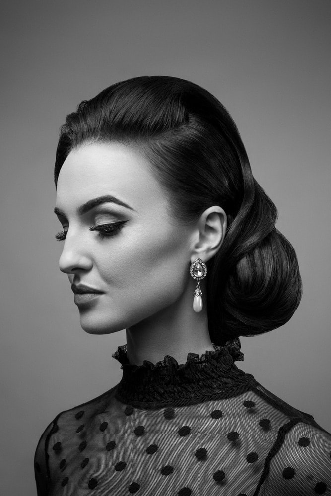 One of the many hairstyles created by the Bellissimo salon and spa in Galway, Ireland.