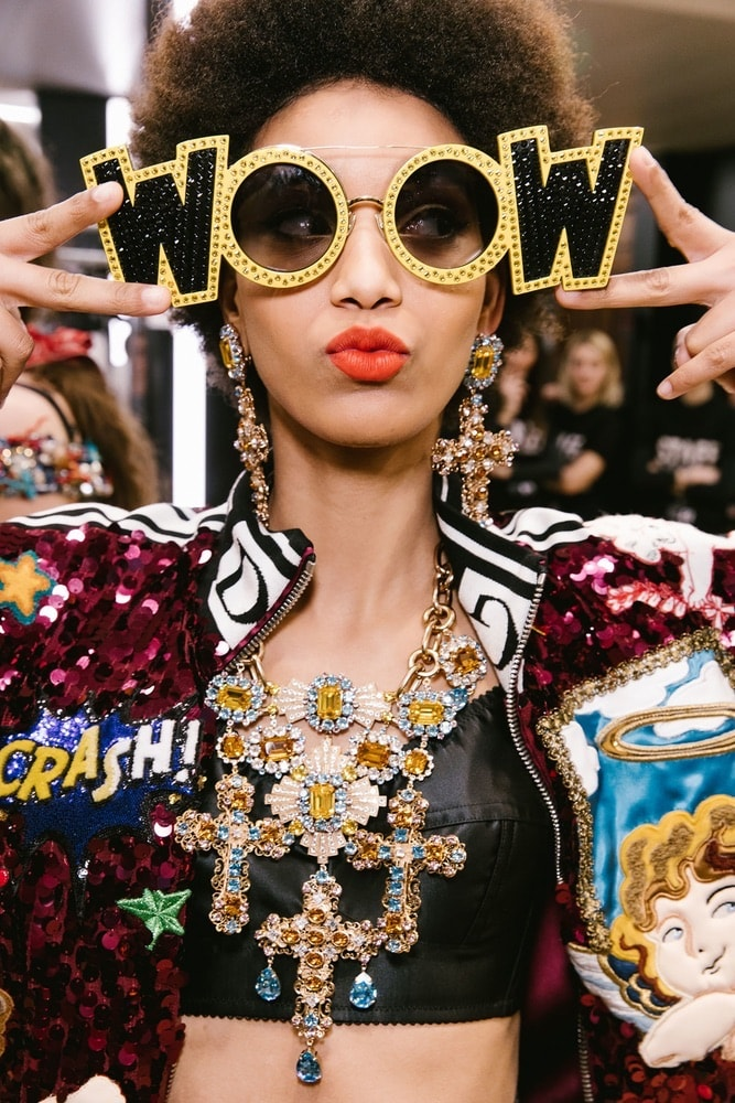 Dolce & Gabbana FW 18 Milan Fashion Week