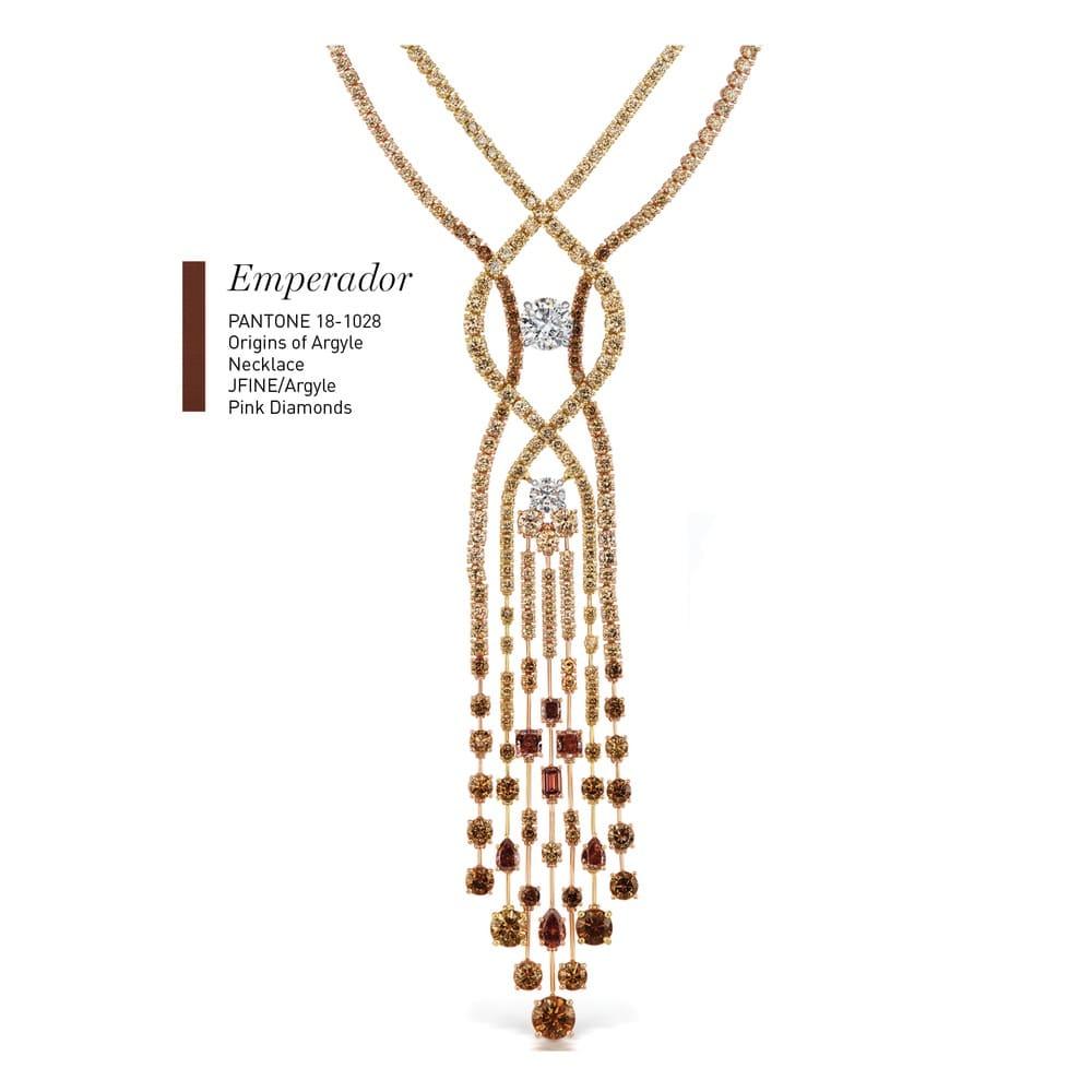 Origins of Argyle Necklace