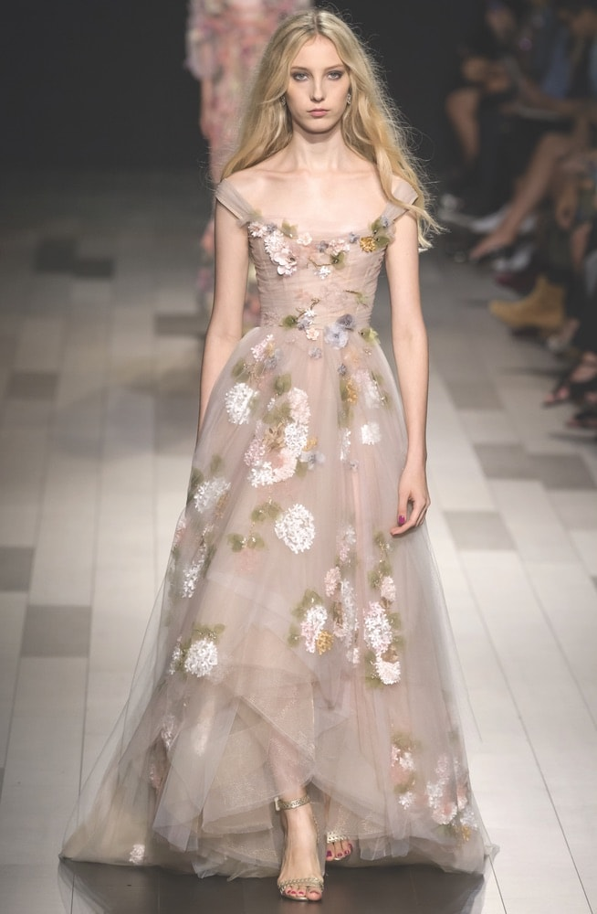 Marchesa SS18 Fashion Show at NYFW