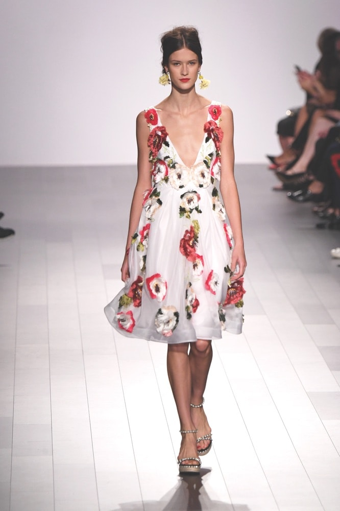 Badgley Mischka SS18 Fashion Show at NYFW