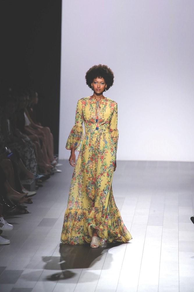Tadashi Shoji SS18 Fashion Show at NYFW