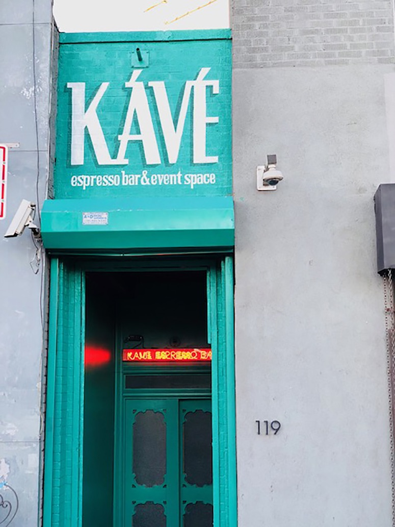 KaVe in Brooklyn is a unique coffee shop to get a coffee and pastry.