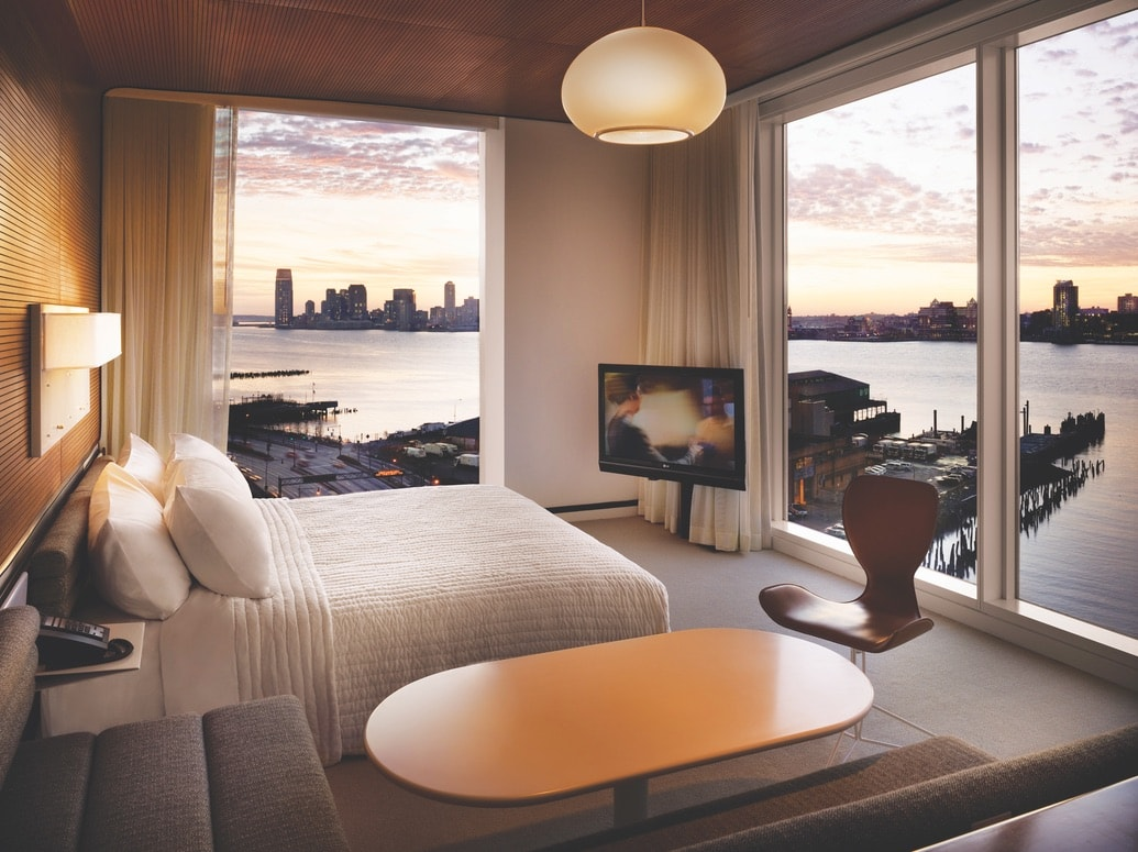 The Standard Hotel suite