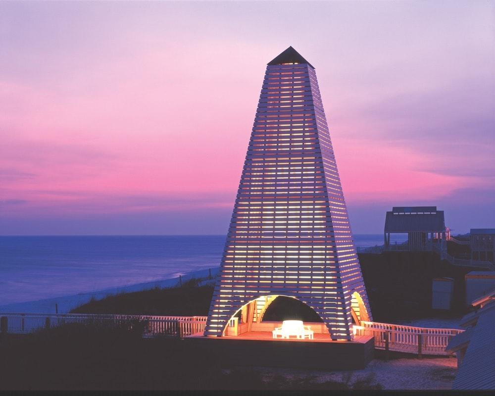 Coleman Pavilion, Seaside Florida, beach pavilion