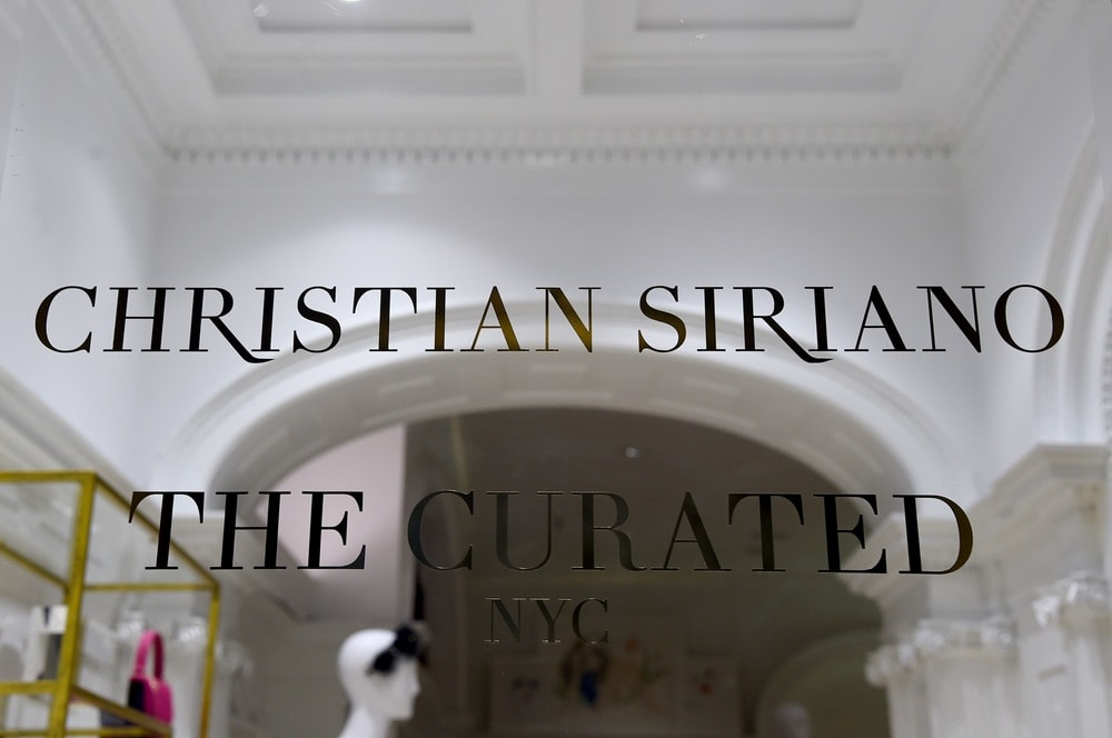 A view of the decor at the opening of Christian Siriano's new store, The Curated NYC, hosted by Alicia Silverstone and sponsored by VIE Magazine on April 17, 2018, in New York City. Photo by Jamie McCarthy/Getty Images for Christian Siriano