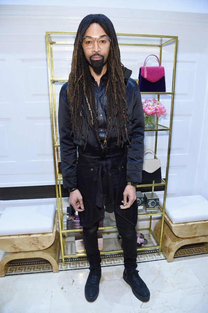 Stylist Ty Hunter attends the opening of Christian Siriano's new store, The Curated NYC, hosted by Alicia Silverstone and sponsored by VIE Magazine on April 17, 2018, in New York City. Photo by Jamie McCarthy/Getty Images for Christian Siriano