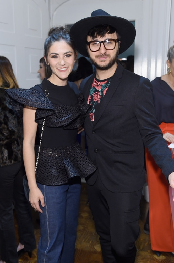 Isabelle Fuhrman and Brad Walsh attend the opening of Christian Siriano's new store, The Curated NYC, hosted by Alicia Silverstone and sponsored by VIE Magazine on April 17, 2018, in New York City. Photo by Jamie McCarthy/Getty Images for Christian Siriano