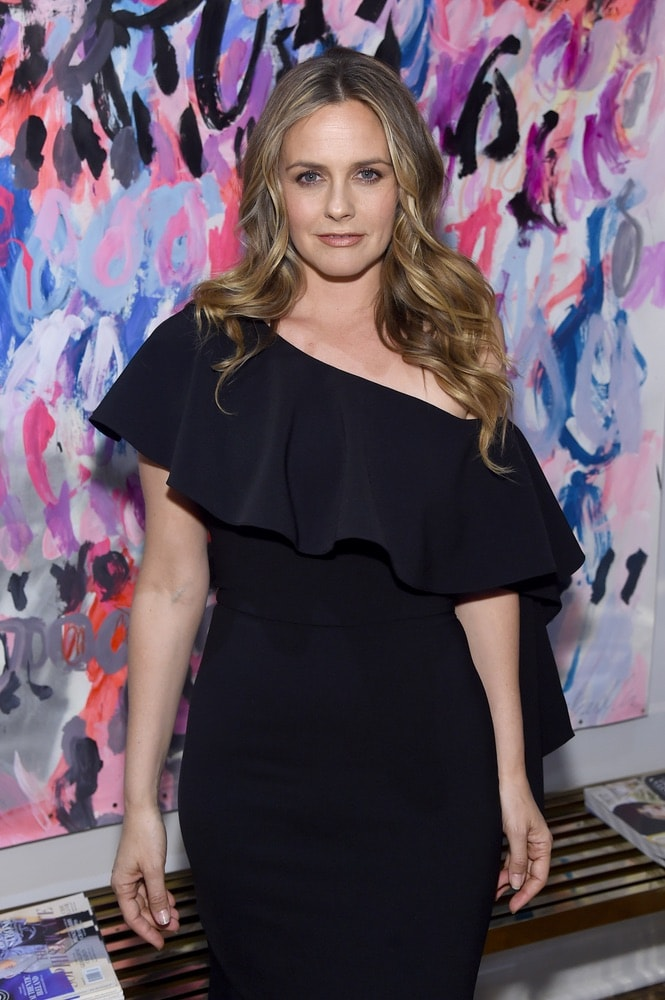 Alicia Silverstone hosts the opening of Christian Siriano's new store, The Curated NYC, sponsored by VIE Magazine on April 17, 2018, in New York City. Photo by Jamie McCarthy/Getty Images for Christian Siriano