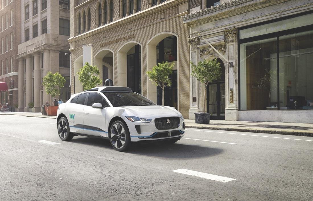 The self-driving Waymo Jaguar I-PACE VIE Magazine June 2018