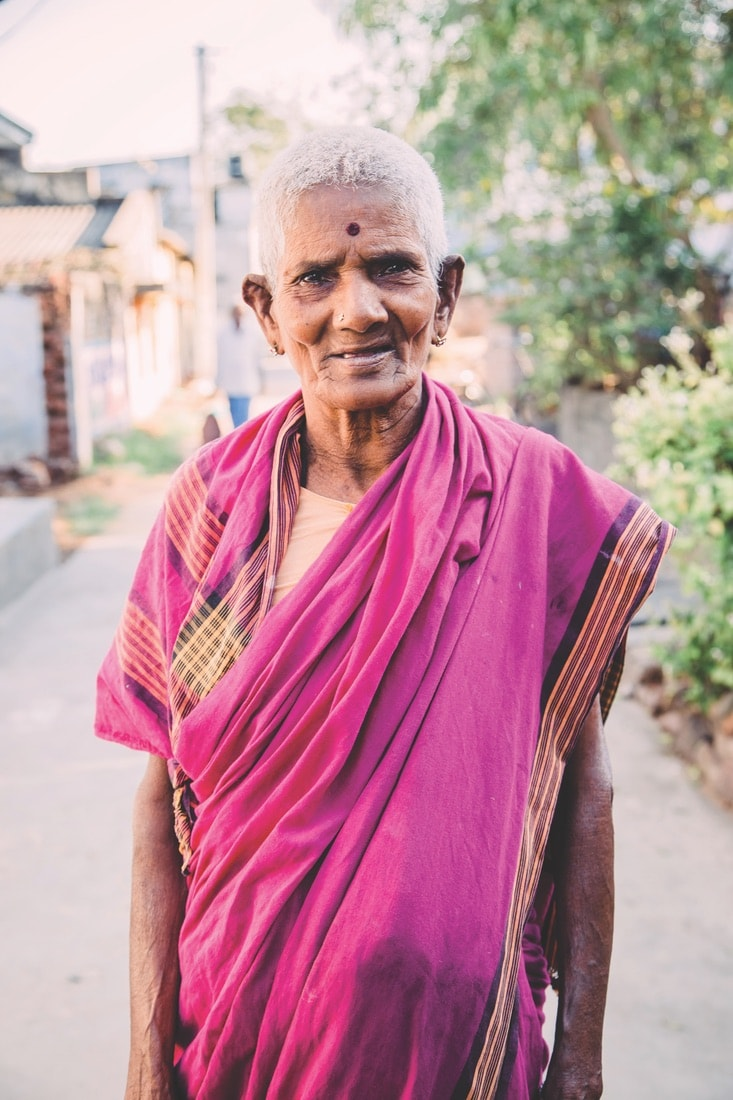 A villager in rural India, VIE Magazine June 2018