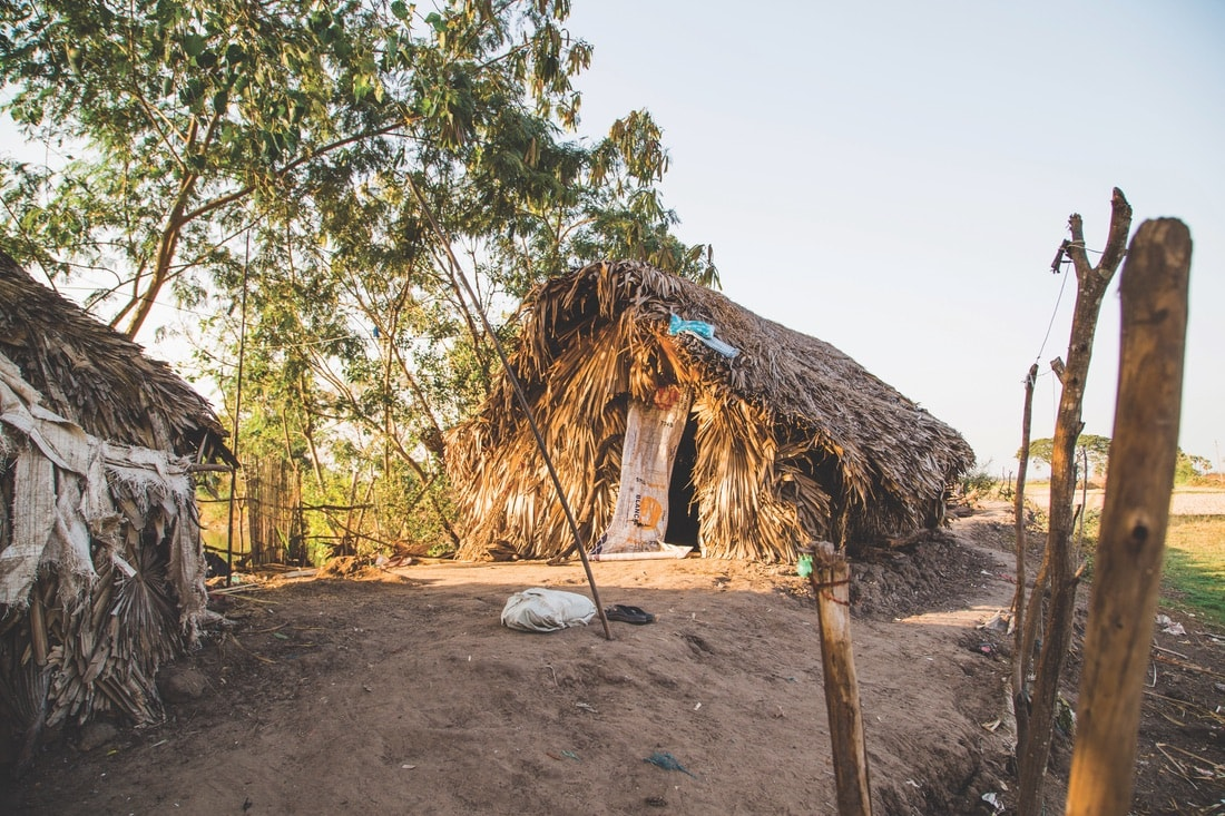 A straw hut in rural India, VIE Magazine June 2018