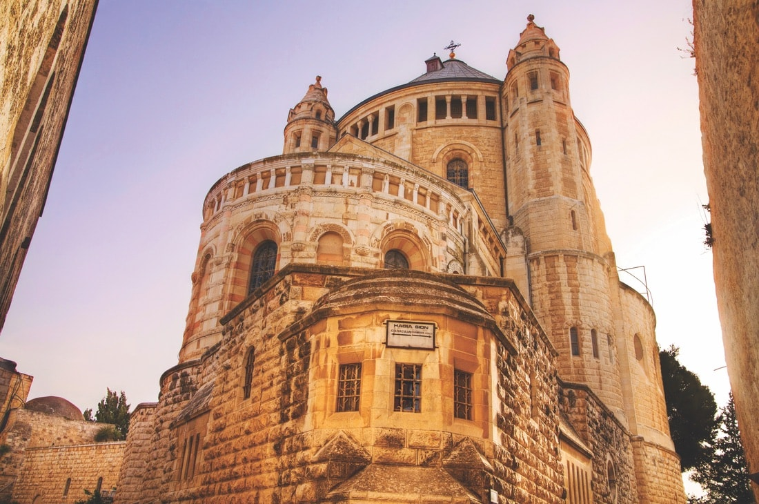 The Abbey of the Dormition on Mount Zion