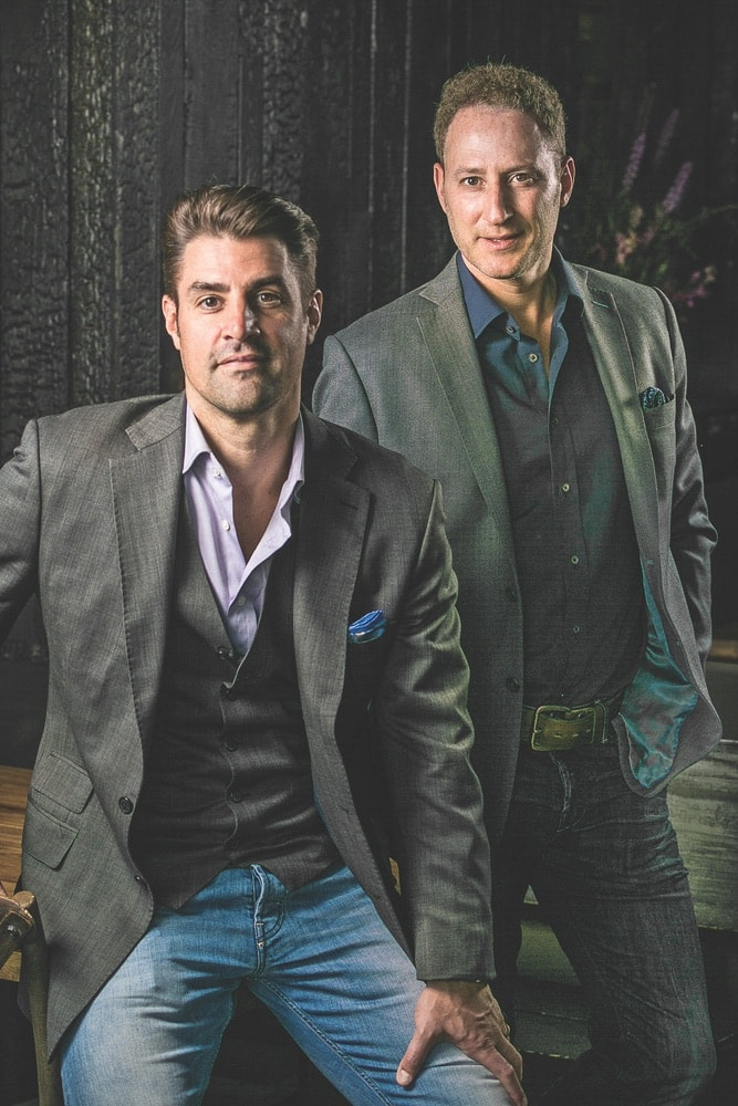 Boka Restaurant Group founders Kevin Boehm and Rob Katz