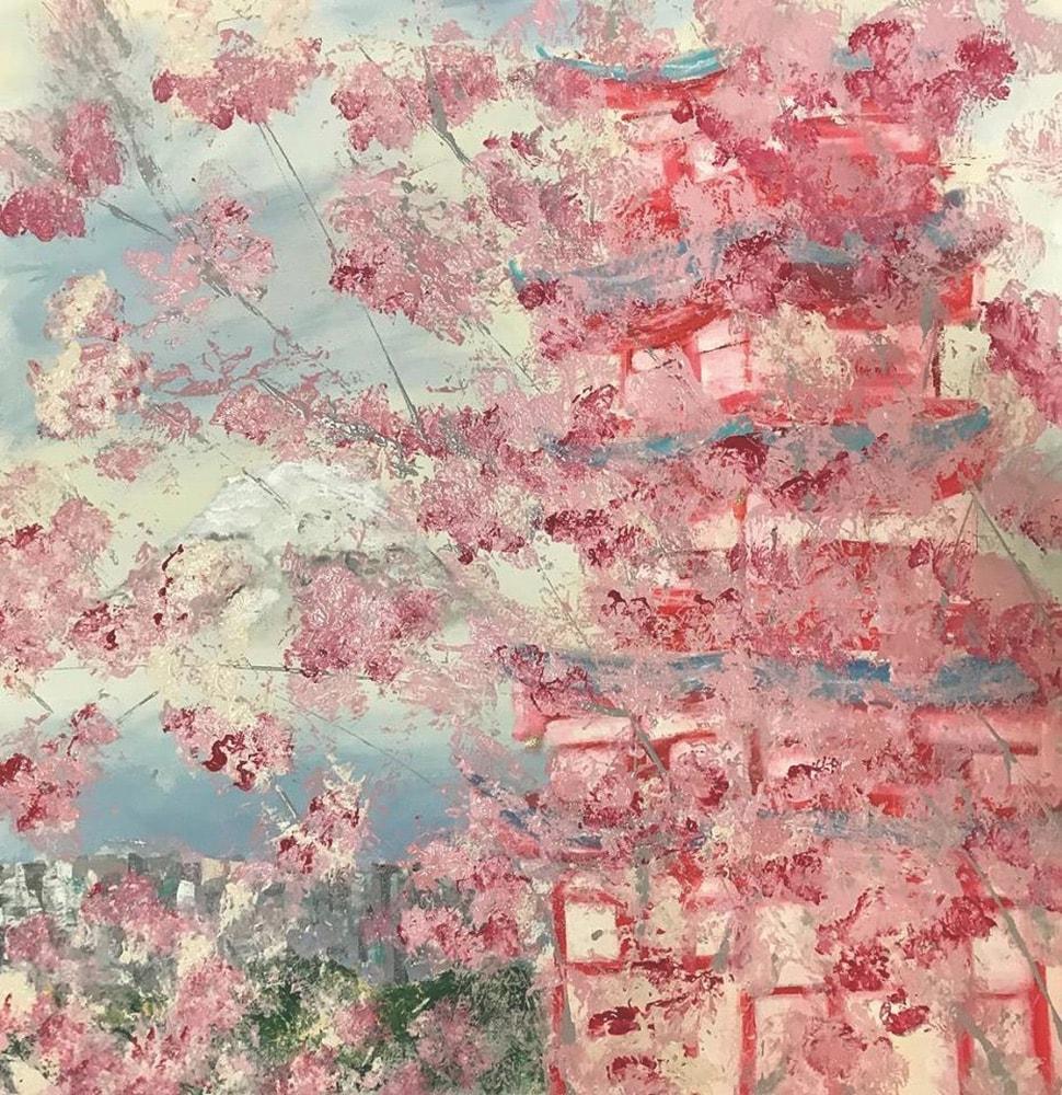 Jessica Hathorn's painting