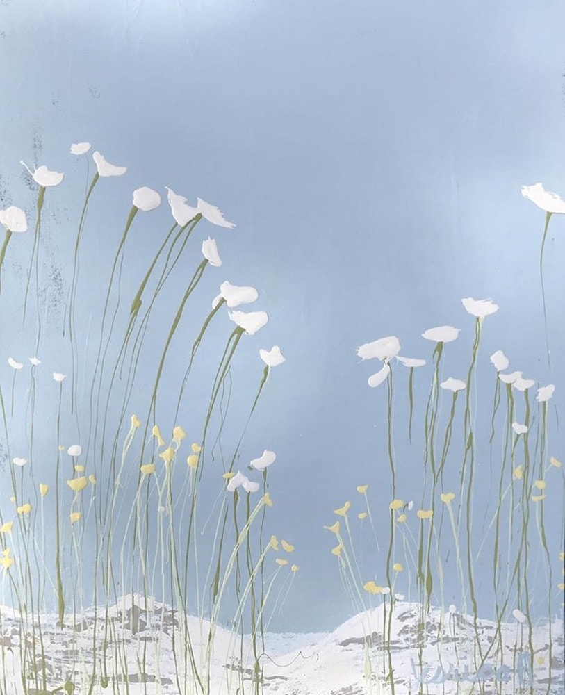 Jessica Hathorn's painting inspired by the Botanical Gardens in Birmingham, Alabama
