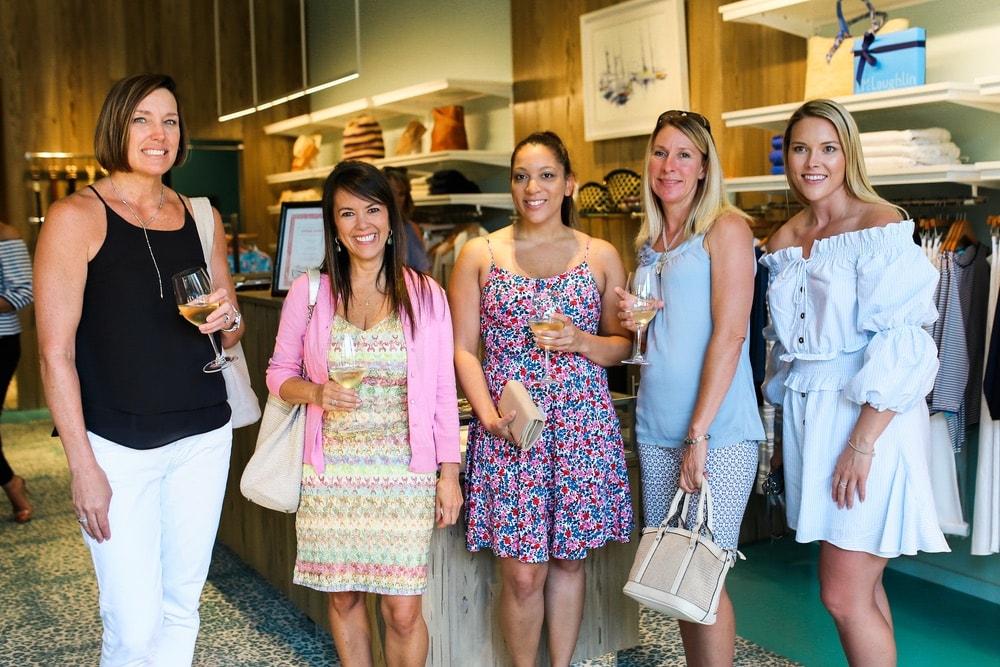 VIE Magazine sip and shop at JMcLaughlin in Grand Boulevard Town Center benefiting Alaqua Animal Refuge