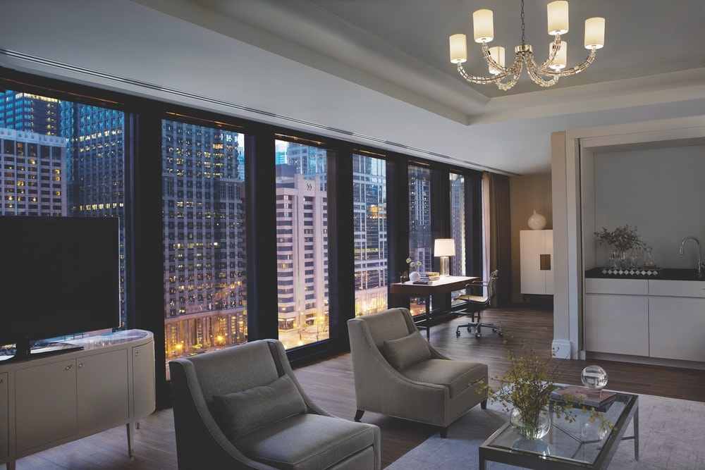 Though there's plenty to see from your window, be sure to ask the hotel concierge about booking a Chicago architecture tour so you can embrace even more of the city's historic landmarks.