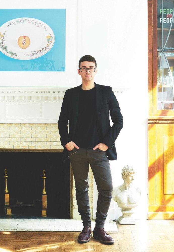 Designer Christian Siriano