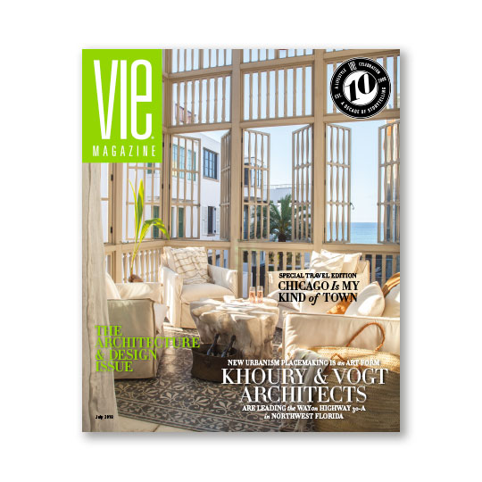 VIE Magazine - July 2018 Architecture & Design Issue