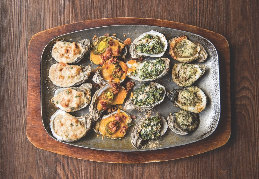 The oyster sampler is a favorite at Wintzell's Oyster House.