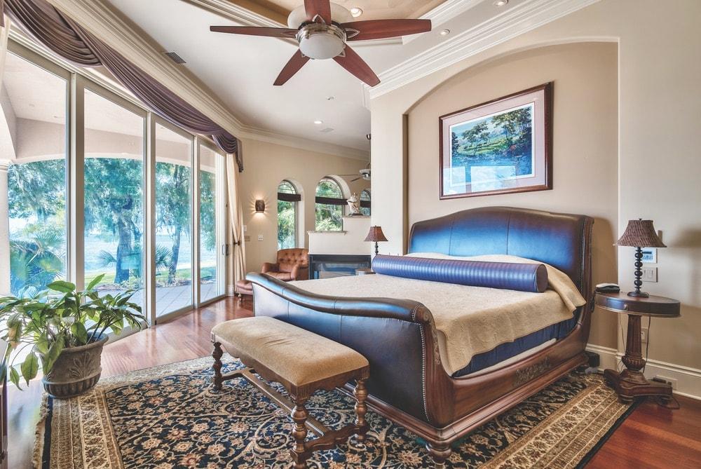 Bedroom view of the house sold by Engel & Völkers realtor, Renee Ryan