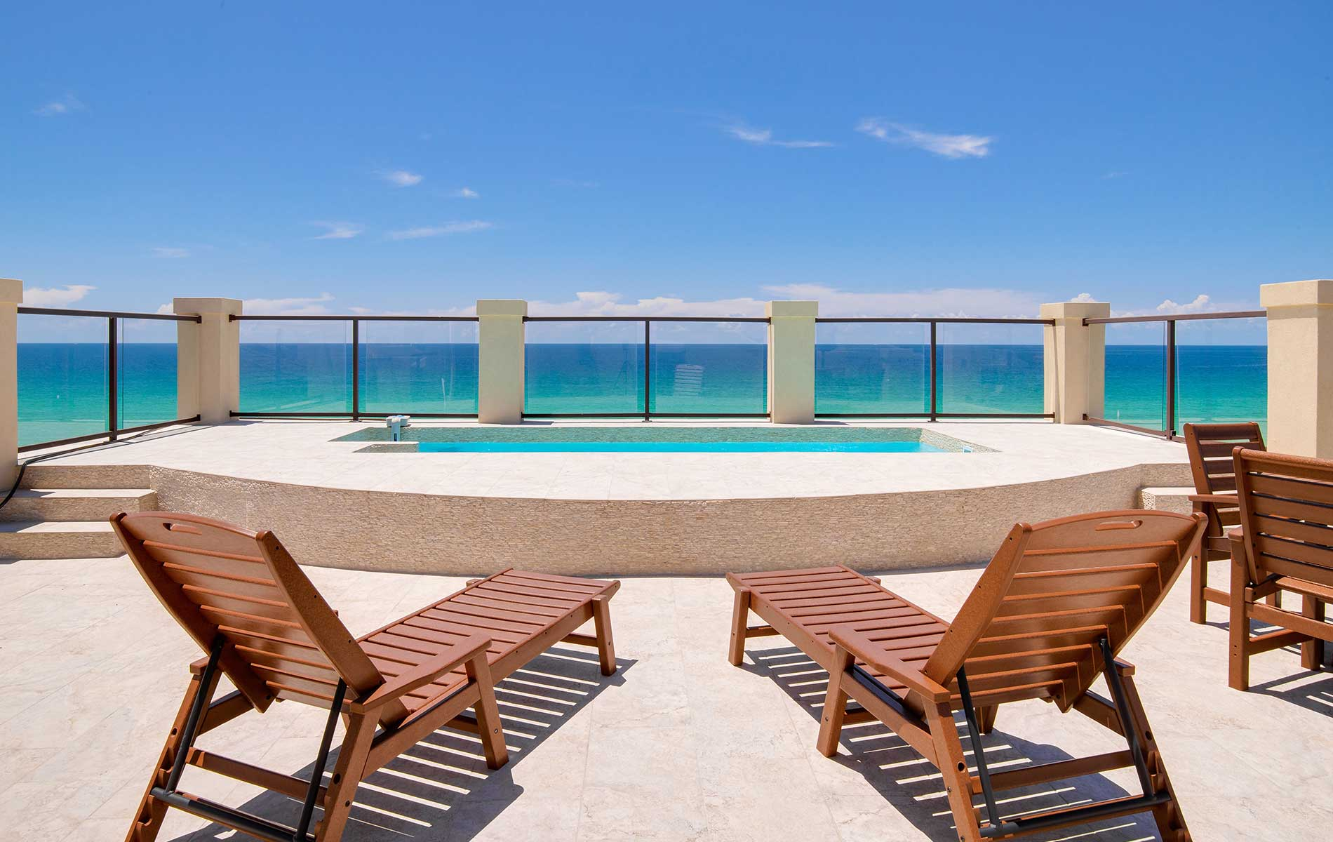 It doesn't get much better than the view of the Gulf of Mexico from 4720 Ocean Boulevard in Destin, Florida! This seven-bedroom home with private rooftop pool and sundeck is for sale through Scenic Sotheby's International Realty. Contact Blake Morar for information at (850) 231-6052.