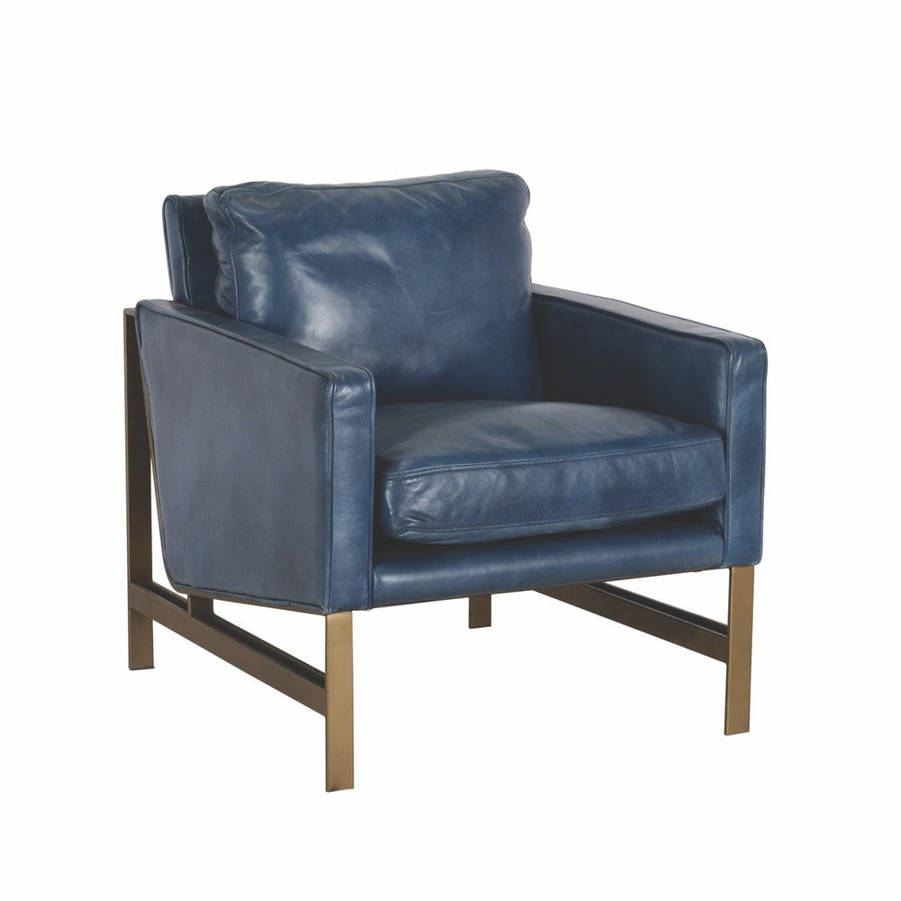 VIE Magazine SEP18 Blue Chair available at Lovelace Interiors